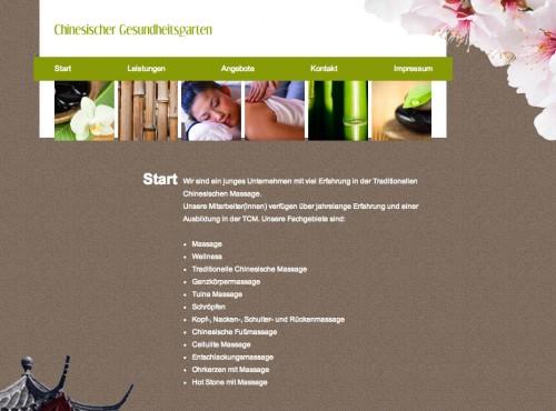 Firmenprofil von: Chinesischer Gesundheitsgarten in Aachen