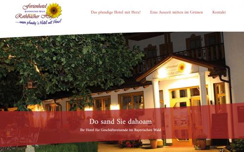 Firmenprofil von: Für Gewerbereisen im Bayerischen Wald: Hotel Rothbacher Hof
