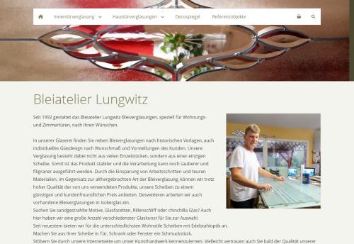 Firmenprofil von: Bleiatelier Lungwitz – Ihr Ansprechpartner für Bleiverglasung in Brandenburg
