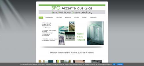 Firmenprofil von: Ihre Glaserei in Verden: BFG Akzente aus Glas