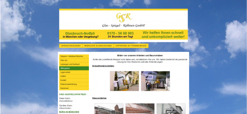 Firmenprofil von: Ihr Experte für Glas in Germering: GSR Glas-Spiegel-Rahmen GmbH