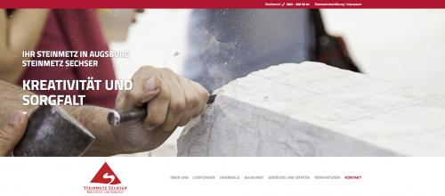 Firmenprofil von: Geschmackvolle Grabsteine vom Steinmetz Sechser in Augsburg