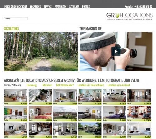Firmenprofil von: Grohlocations - Locationscouting und Filmserviceagentur in Berlin