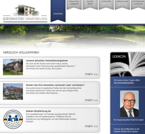 Firmenprofil von: Gromatzki Immobilien GmbH in Uelzen