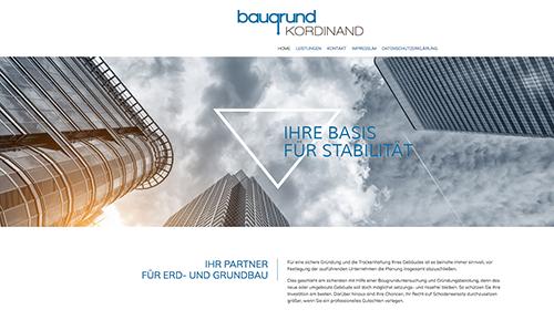 Firmenprofil von: Baugrundsachverständiger Dipl.-Ing. (FH) Ralf Kordinand in Hamburg