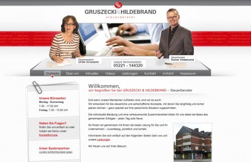 Firmenprofil von: Gruszecki & Hildebrand Partnerschaftsgesellschaft in Herford
