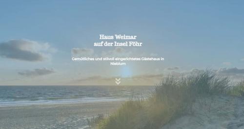 Firmenprofil von: Paradiesurlaub auf Föhr: Haus Weimar