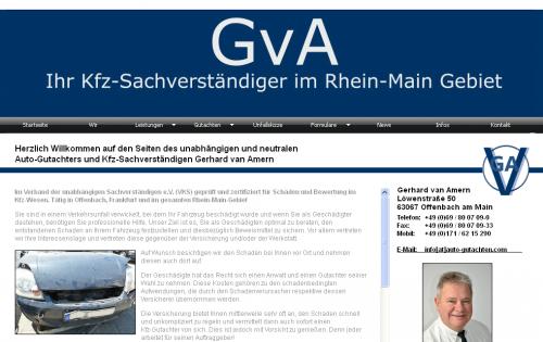 Firmenprofil von: SV-Büro für Kraftfahrzeuge Gerhard van Amern in Offenbach