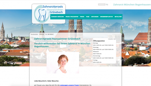 Firmenprofil von: Zahnarztpraxis für Biologisch-Ästhetisch-Restaurative Zahnheilkunde in München
