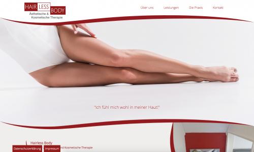 Firmenprofil von: Hairless Body – Ästhetische & Kosmetische Therapie in Marburg