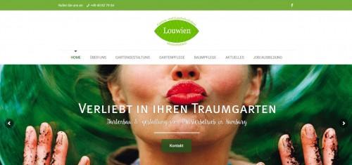 Firmenprofil von: Louwien Garten- und Landschaftsbau KG: Kreativer Galabau in Hamburg