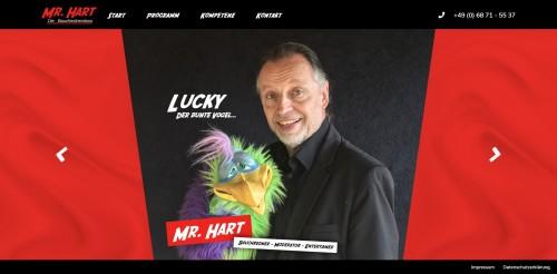 Firmenprofil von: Mr. Hart: Der professionelle Bauchredner für jeden Anlass