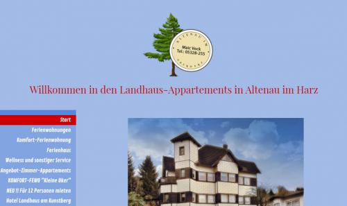 Firmenprofil von: Ihre gemütliche Unterkunft im Harz: Landhaus-Appartements in Altenau