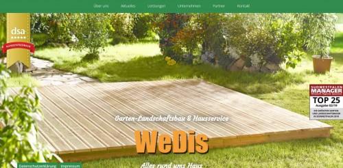 Firmenprofil von: Ihr professioneller Hausservice in Bad Berleburg – WeDis Gartenbau