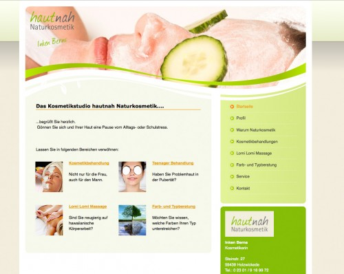 Firmenprofil von: hautnah Naturkosmetik in Holzwickede