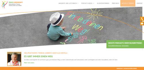 Firmenprofil von: Ihr Experte für psychologische Beratung in Krefeld: Naturheilpraxis Gisbertz-Adam