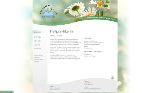 Firmenprofil von: Naturheilpraxis Gerda Lossen in Offenbach