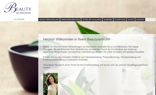 Firmenprofil von: Kosmetikstudio Beauty im Westend in Frankfurt