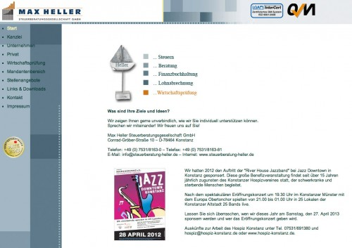 Firmenprofil von: Finanzbuchhaltung in Konstanz Max Heller Steuerberatungsgesellschaft GmbH