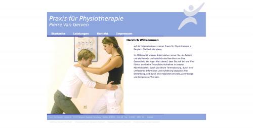 Firmenprofil von: Krankengymnastik in Bergisch Gladbach: Pierre Van Gerven