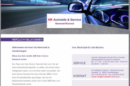 Firmenprofil von: HK Autoteile & Service in Genderkingen – die Werkstatt für alle Marken
