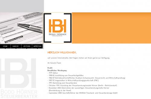 Firmenprofil von: Steuerberatung Bodo Hörner in Brandenburg