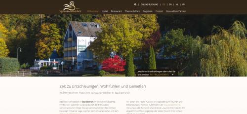 Firmenprofil von: Hotel Schwanenweiher in Bad Bertrich – Sternekomfort inmitten der wunderschönen Eifel
