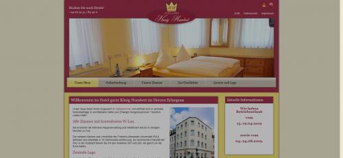 Firmenprofil von: Hotel Garni König Humbert