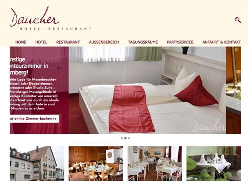 Firmenprofil von: Entspannung und Gemütlichkeit – Hotel-Restaurant Daucher in Nürnberg