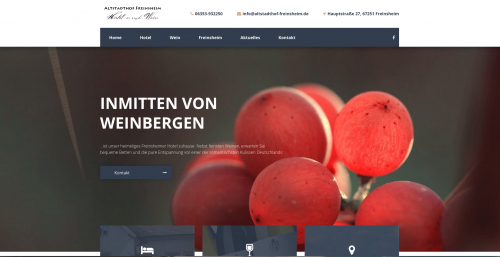 Firmenprofil von: Altstadthof Freinsheim, Hotel in Freinsheim