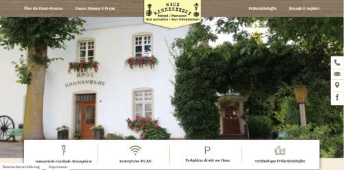 Firmenprofil von: Ankommen und Entspannen – Hotel Hahnenbecke in Kierspe