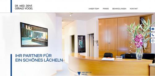 Firmenprofil von: Professionelle Zahnbehandlungen in München - Zahnarzt Dr. med. dent. Gerald Vogel