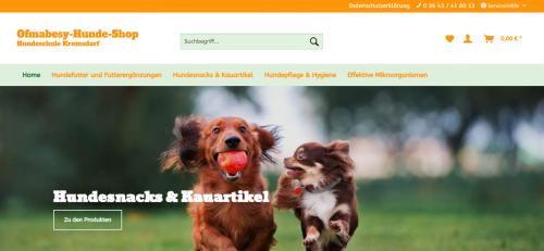 Firmenprofil von: Vitaminreiches Trockenfutter für Ihren Liebling: Der Ofmabesy Hundeshop
