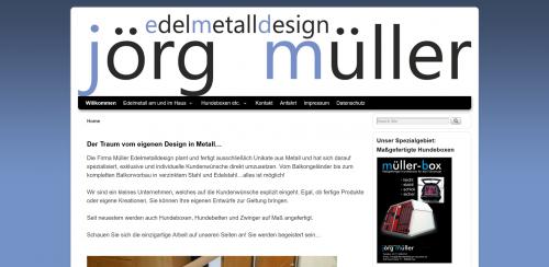 Firmenprofil von: Maßangefertigte Hundeboxen bei Edelmetalldesign Jörg Müller