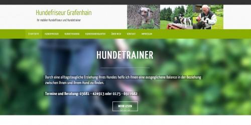 Firmenprofil von: Mobiler Hundefriseur und -trainer Torsten Grafenhain in Suhl
