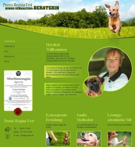 """Firmenprofil von: Hundebücher Regina Fest """" Hunde die bellen beißen doch """""""