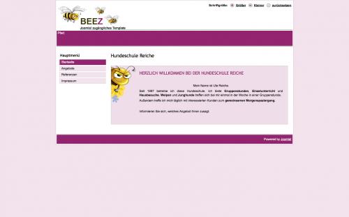 Firmenprofil von: Hundeschule in Mosbach: Hundeschule Reiche