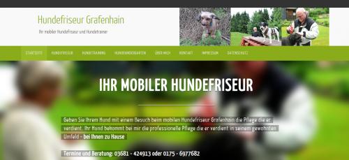 Firmenprofil von: Hundefriseur Grafenhain – für Sie mobil in Coburg und Umgebung