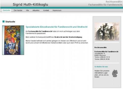 Firmenprofil von: Familienrecht - Rechtsanwältin Sigrid Huth-Kitlikoglu in Offenbach