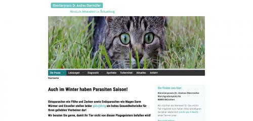 Firmenprofil von: Kleintierpraxis Dr. Andrea Obermüller – Ihr Tierarzt in Schwabing-Freimann