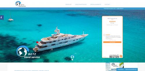 Firmenprofil von: Mit BETZ Travel Service Reisebüro Traumreisen zu Honeymoon-Zielen