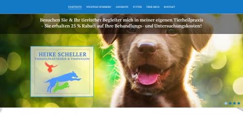 Firmenprofil von: Die Tierheilpraktikerin Ihres Vertrauens im Kreis Gütersloh: Heike Scheller