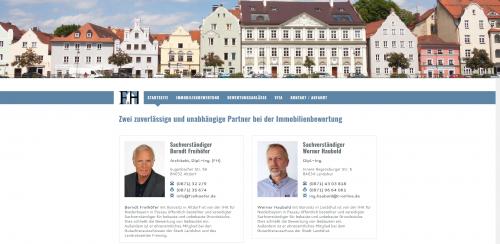Firmenprofil von: Ihr Partner für die Immobilienbewertung: Diplom-Ingenieur Werner Haubold in Landshut