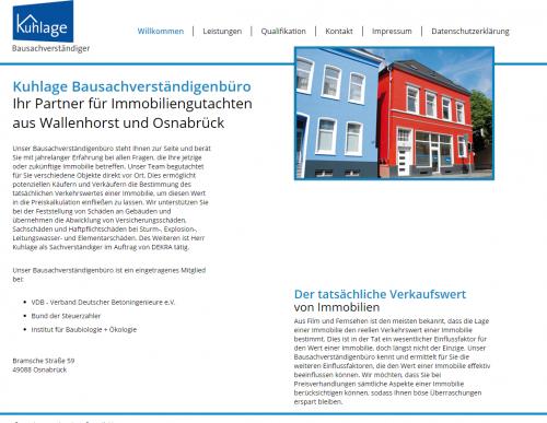 Firmenprofil von: Ihre Immobilienmakler in Osnabrück: Bausachverständigenbüro Peter Kuhlage