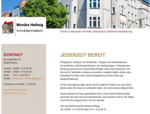 Firmenprofil von: Immobilien als lukrative Kapitalanlage finden mit Monika Hellwig