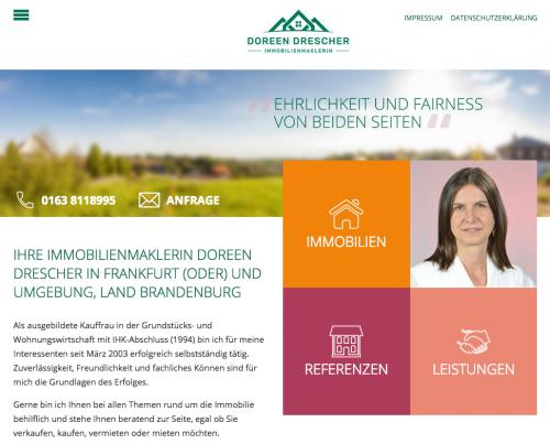Firmenprofil von: Immobilien in Frankfurt (Oder): Doreen Drescher