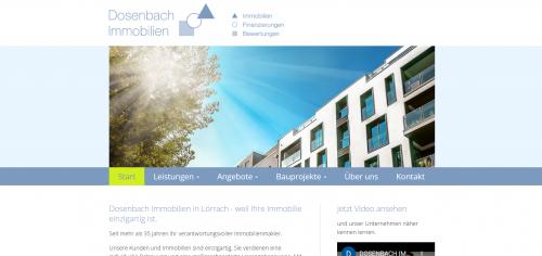 Firmenprofil von: Immobilienverkauf leicht gemacht mit Dosenbach Immobilien