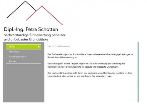 Firmenprofil von: Dipl.-Ing. Petra Schotten, Sachverständige für die Bewertung bebauter und unbebauter Grundstücke in Alfter/Rhein-Sieg-Kreis/Bonn