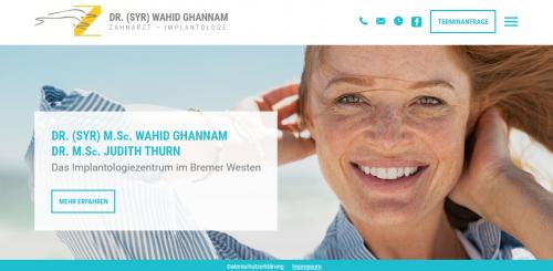 Firmenprofil von: Ihr Partner für die Implantologie in Bremen: Dr. Wahid Ghannam (M.Sc.)