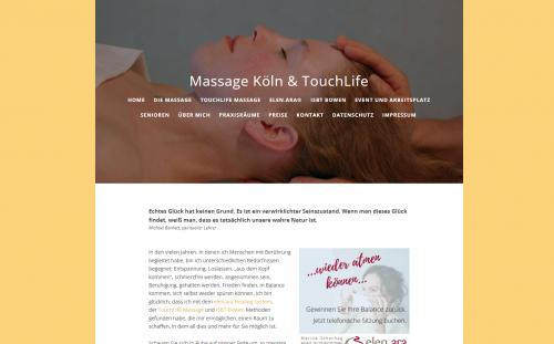 Firmenprofil von: Heilsame Massagen mit der TouchLife-Methode: Entspannen Sie in Köln